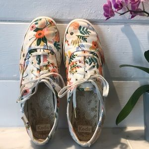 Keds Rifle Paper Co. Champion Floral Sneaker 7.5